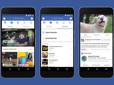 Facebook Watch ya está activo en Estados Unidos: llegan los vídeos exclusivos