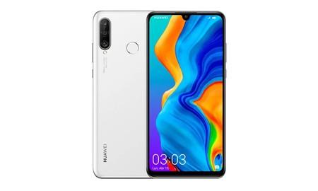 Precio mínimo hoy en Amazon para el Huawei P30 Lite con 4 GB de RAM en color blanco: sólo 289 euros