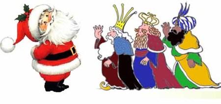 Entre Papá Noel y los Reyes Magos: el dilema del año