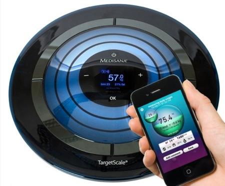 Medisana, una báscula futurista compatible con iPhone