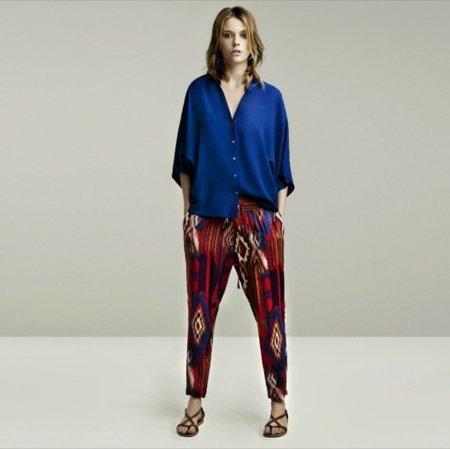 Klein lookbook mayo de Zara