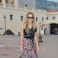 Alexia Niedzielski en el desfile de Louis Vuitton