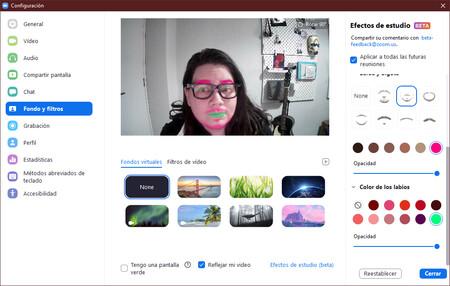"""Zoom añade efectos de estudio: las opciones que """"necesitabas"""" para verte completamente ridículo en tu próxima videollamada"""