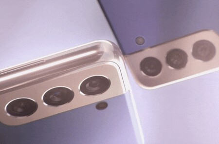 Los teaser filtrados de los Samsung Galaxy S21 y S21+ muestran el nuevo módulo para las cámaras traseras y colores que traerán