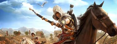 Análisis de Assassin's Creed: Origins. Ubisoft vuelve a brillar, pero también tropieza con nuevas piedras