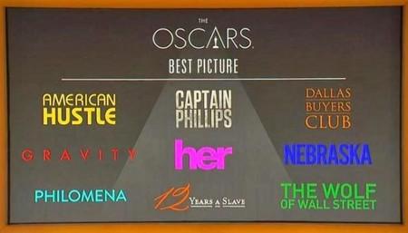 Oscar 2014   La cuenta atrás   Mejor película