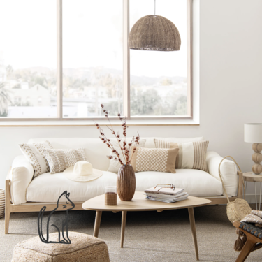 17 compras clave para conseguir una decoración relajada, de colores neutros y materiales naturales según Maison du Monde