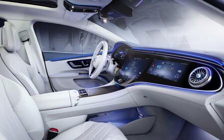 Mercedes Benz Eqs Interior 2