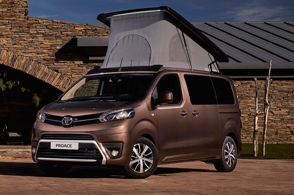 Toyota camperiza su Proace Verso, con ducha y calefacción independiente, partiendo de 37.075 euros