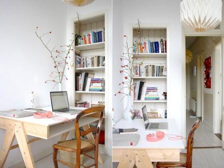 Una casa creativa, alegre y entrañable en el corazón de Amsterdam