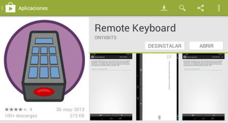 Remote Keyboard, escribe en tu dispositivo Android con el teclado del PC
