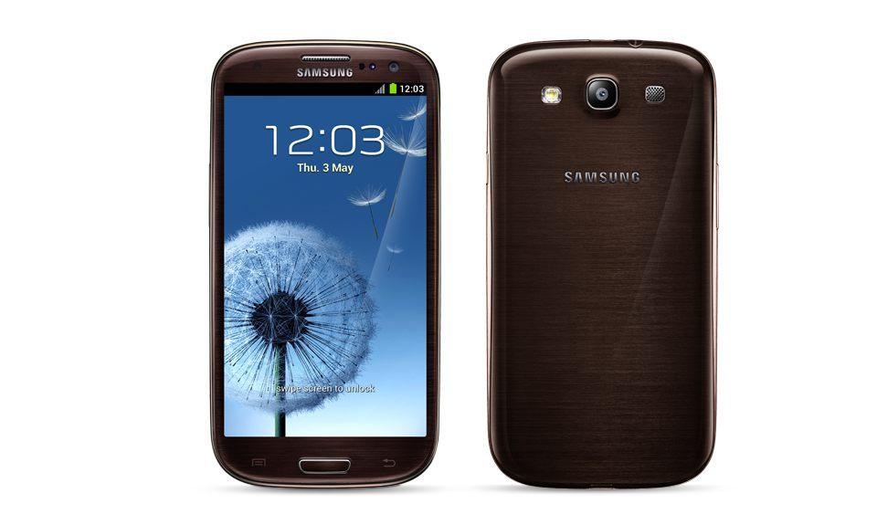 Foto de Samsung Galaxy S3 en color marrón (1/5)