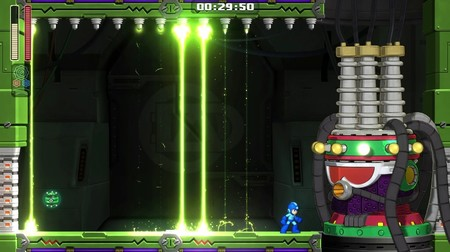 Mega Man 11 Dread Spark