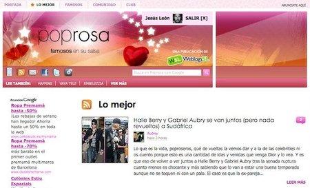 """Nuevas funciones en Poprosa: pestaña con """"Lo mejor"""" y más integración con Facebook"""