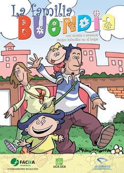Un cómic para ayudar a prevenir los riesgos infantiles en el hogar