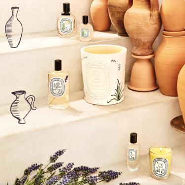 La gran colección de aromas de verano de Diptyque es un paseo por la costa del Mediterráneo más auténtica