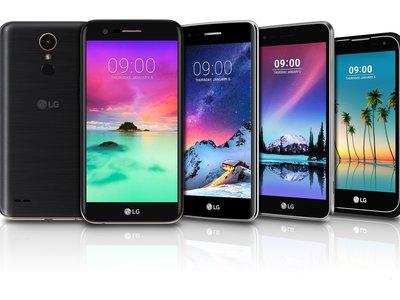 LG K3, K4, K8 y K10: avalancha de móviles económicos para cerrar 2016