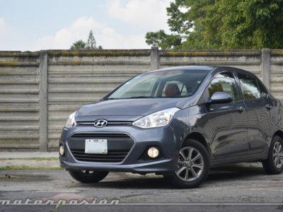 Probamos el Hyundai Grand i10 Sedán... y tú que te compraste un Chevrolet Aveo