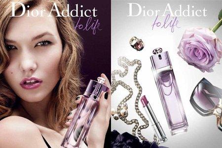 Karlie Kloss es la nueva imagen del perfume 'To Life' de la colección Dior Addict