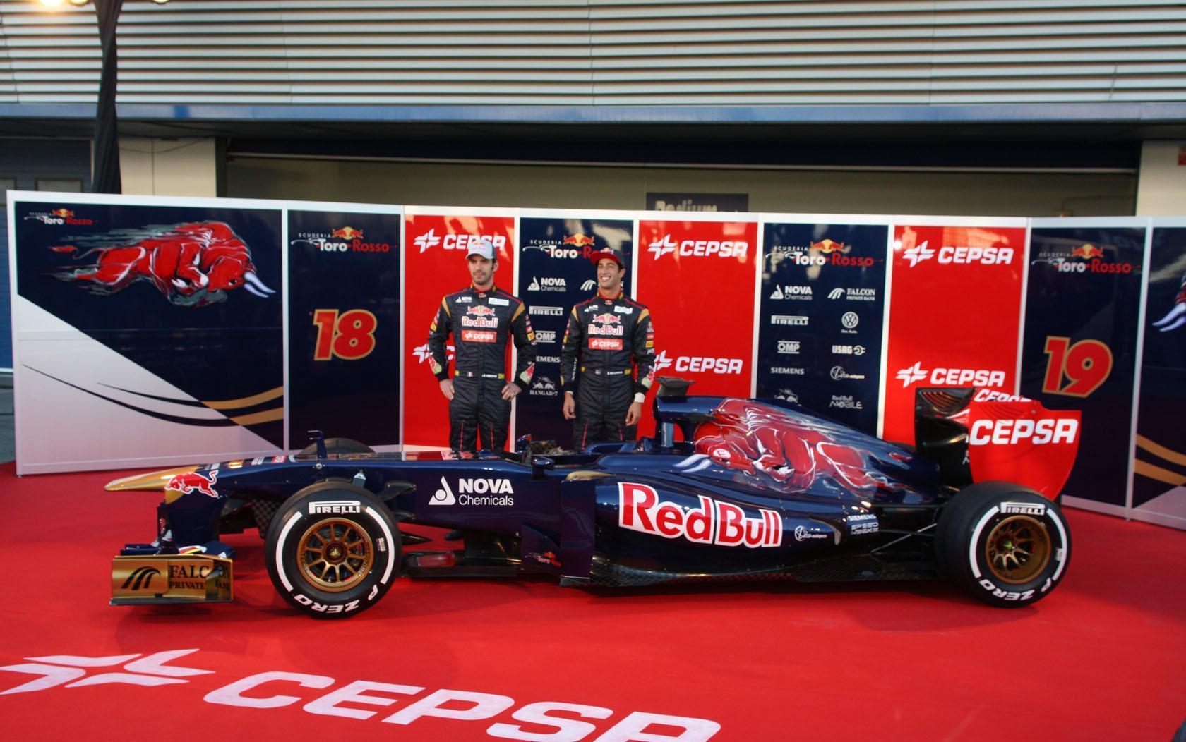 Foto de Toro Rosso STR8 (1/5)