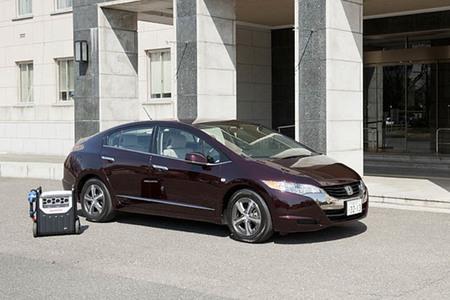 El Honda FCX Clarity, otra estación eléctrica móvil