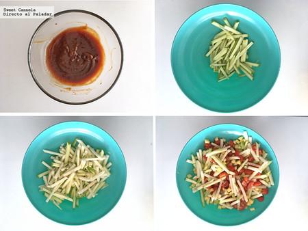 Ensalada Frutas Y Verduras Con Aderezo Tamarindo 2