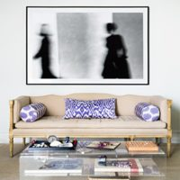 Una buena idea: decorar con fotos en blanco y negro