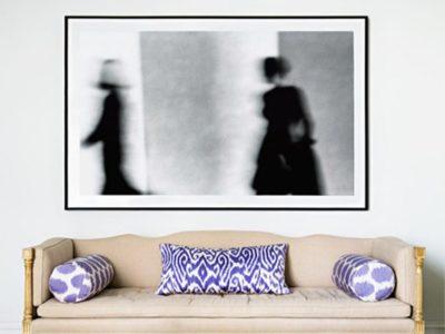 Una buena idea: decorar con fotos en blanco y negro