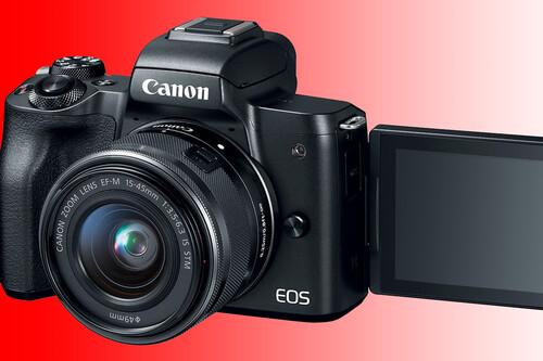 Canon presenta la nueva EOS M50 Mark II, una ligera revisión muy orientada a vloggers y YouTubers