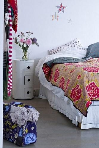 Una buena idea: Aprovecha los sobrantes de empapelar las habitaciones