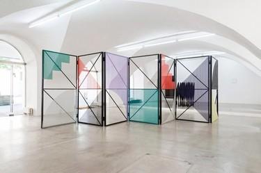 Eva Berendes, de la pintura a las estructuras metálicas para decoración