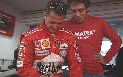 Rossi, ¿tercer piloto de Ferrari?