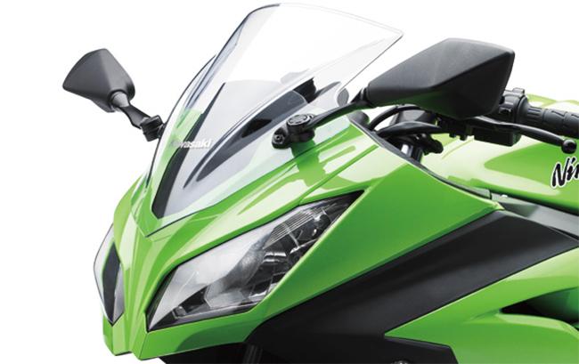 Frontal Kawasaki Ninja 250R