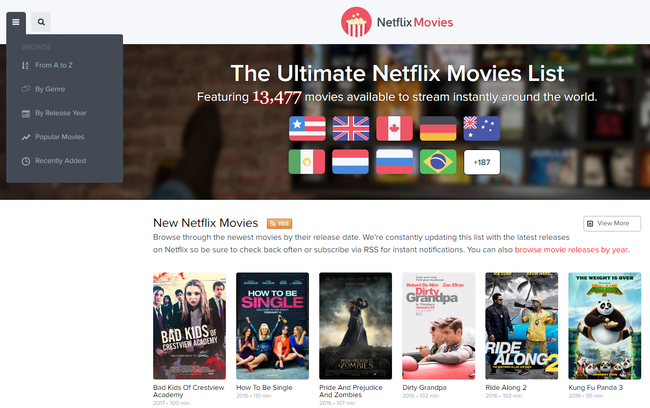 Watch All The Latest Movies On Netflix Netflixmovies Com