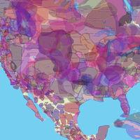 Los territorios antaño poblados por los nativos americanos, definidos en este mapa interactivo