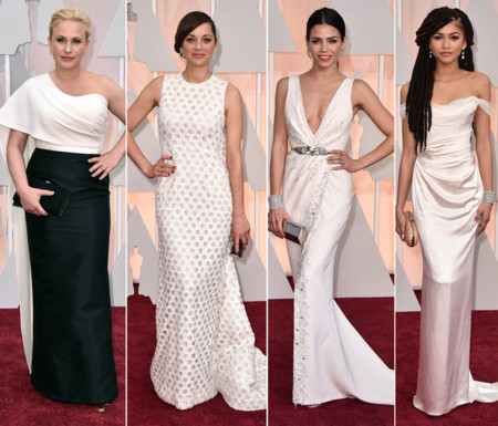 Actrices Oscar 2015 Blanco