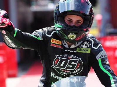 ¡Espectacular! Ana Carrasco su segunda victoria de Supersport 300 y es aún más líder de la general