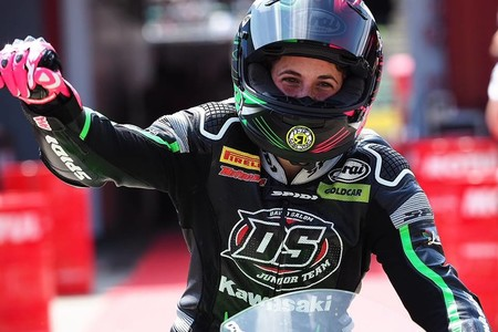 ¡Espectacular! Ana Carrasco su segunda victoria de Supersport 300 y es aún más líder de la general