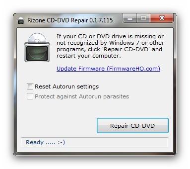 Haz que tu unidad óptica vuelva en Windows 7