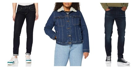 Chollos en tallas sueltas de camisas, pantalones o faldas Levi's, Pepe Jeans, Lee o Wrangler a la venta en Amazon