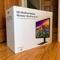Apple está vendiendo un nuevo monitor LG UltraFine de 23,7 pulgadas en las Apple Store