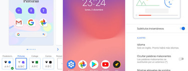 Google updates all of its Pixel with themes and gestures in any launcher, the Pixel 3 and 3a also receive Live Caption