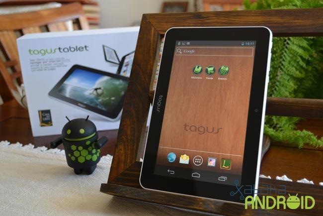 Tagus Tablet a prueba