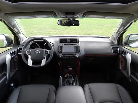 Prueba Toyota Land Cruiser Interiores 3