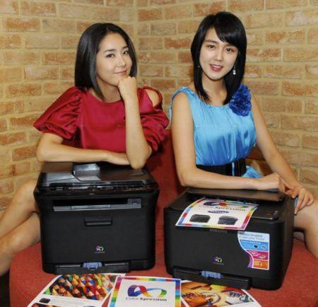 Impresoras láser color Samsung de pequeñas dimensiones