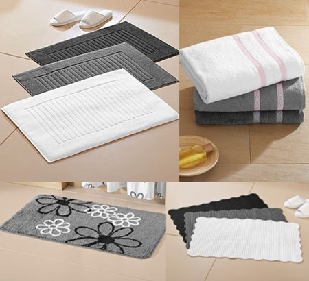 Textiles para el baño en Lidl