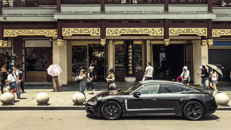 Taycan Prototype Shanghai 2019 Porsche