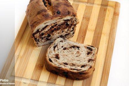 Receta de pan de chocolate y canela