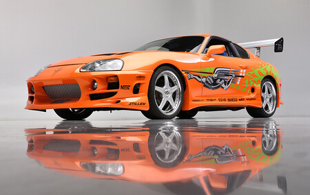 ¡De cine! El mítico Toyota Supra de Paul Walker protagonista en 'The Fast and the Furious', a subasta