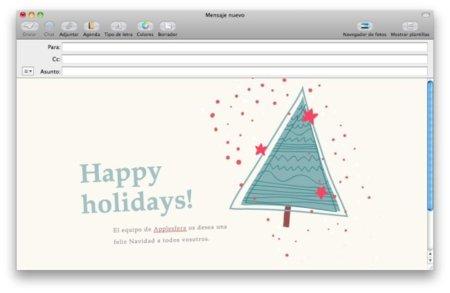 Plantillas navideñas para Mail gratis, gracias a Jumsoft